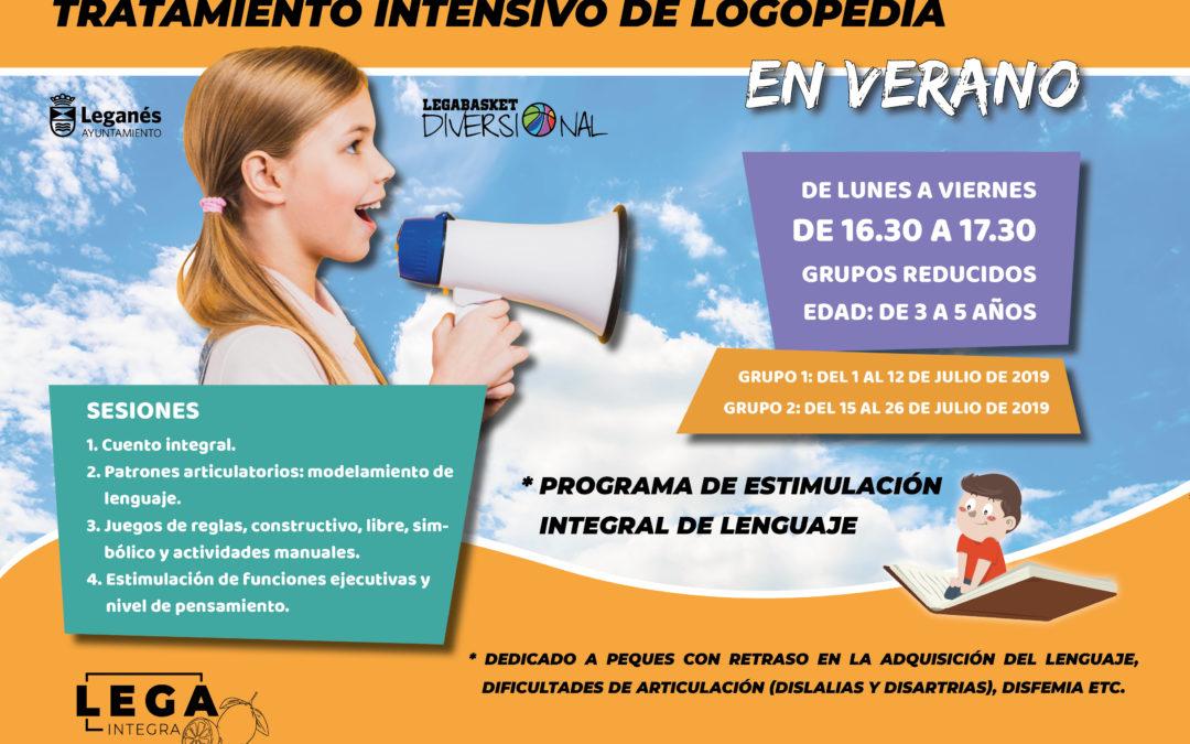 Tratamiento intensivo de Logopedia en verano