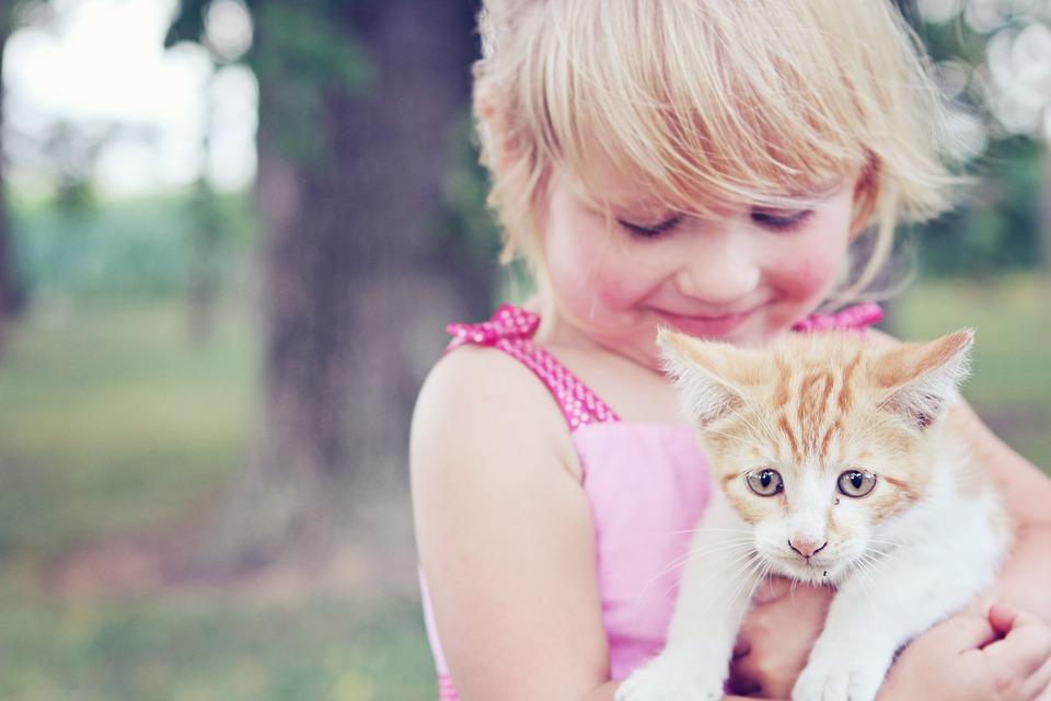 El especial vínculo entre niños y mascotas