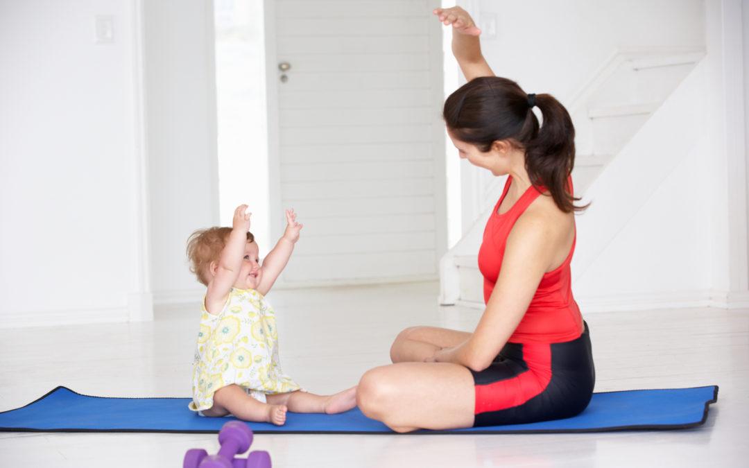 Ser madre y hacer ejercicio es posible