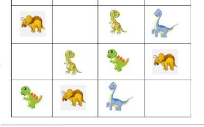 ¡Sudoku infantil para mantener la mente activa!